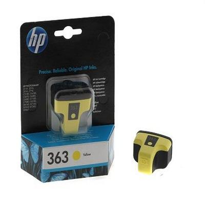 HP 363A (C8773EE) Μελάνι Yellow