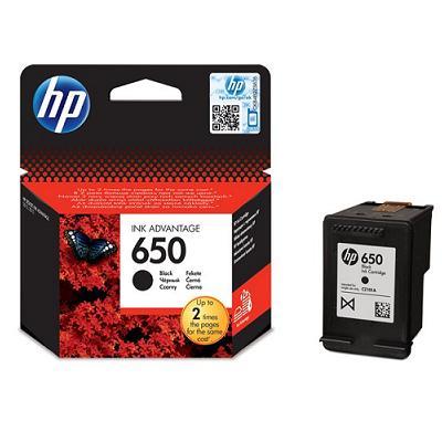 HP 650A (CZ101AE BHL) Μελάνι Μαύρο