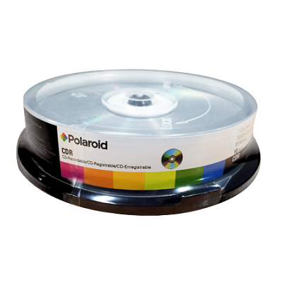 Polaroid CD-R 52x 700MB 10 Τεμάχια Cake Box