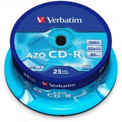 Verbatim CD-R 52x 700MB 25 Τεμάχια Cake Box