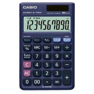 CASIO SL-310TER Αριθμομηχανή 10 ψηφίων